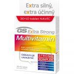 Porovnání ceny GS Extra Strong Multivitamín 30+10 tablet