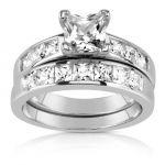 Porovnání ceny Stříbrný set prstenů PRIA JJJR048 se zirkony s briliantovým výbrusem velikost 54 VÝPRODEJ+ dárkové balení zdarma
