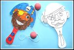 Porovnání ceny Baker Ross Pirátská pálka s míčkem (4 ks)
