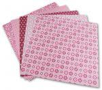 Porovnání ceny Folia - Max Bringmann Origami papír Basics 80 g/m2 - 20 x 20 cm, 50 archů - růžový