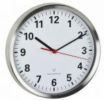 Porovnání ceny TFA Dostmann Nástěnné hodiny řízené DCF signálem TFA 60.3529.02; Ø 220 mm