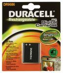 Porovnání ceny Duracell Baterie do fotoaparátu Pentax Optio RZ10/Optio WG-1/X70, 770mAh, 3.7V, DR9686, blistr