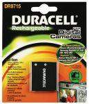 Porovnání ceny Duracell Baterie do fotoaparátu Pentax Optio E75/Optio E85/Optio M85, 720mAh, 3.7V, DR9715, blistr