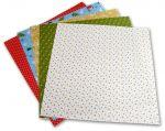 Porovnání ceny Folia - Max Bringmann Origami papír Vánoce 80 g/m2 - 20 x 20 cm, 50 archů