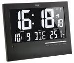 Porovnání ceny TFA Dostmann Inverzní nástěnné DCF hodiny s podsvícením TFA 60.4508, 185 x 230 x 31 mm, černá