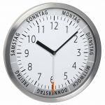 Porovnání ceny TFA Dostmann Nástěnné hodiny TFA 60.3044.02 s ukazatelem dne v týdnu