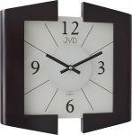 Porovnání ceny Černé skleněné dřevěné luxusní nástěnné hodiny JVD N12047. 23