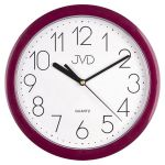 Porovnání ceny Fialové moderní netikající sweep hodiny JVD HP612.10