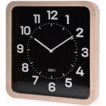 Porovnání ceny Nástěnné hodiny v dřevěném rámečku, čtvercový - 40 x 40 cm Home Styling Collection