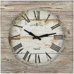 Porovnání ceny TFA Dostmann Dřevěné nástěnné RETRO hodiny Vintage XXL TFA 60.3030.08