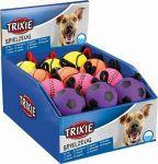 Porovnání ceny Neonový míč na šňůře, mechová guma, 6cm/30cm TRIXIE