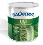 Porovnání ceny Balakryl Uni SATIN 0,7 kg - černá