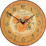 Porovnání ceny ROGER LASCELLES Nástěnné hodiny - Slunečnice - 36cm