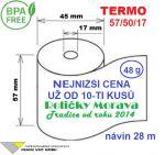 Porovnání ceny Franz Veit GmbH Termo 57/50/17 28 m-1ks=6,49 Kč cena za: 55g/m² 120 ks v kartonu
