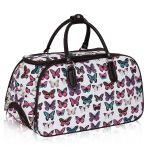 Porovnat ceny Cestovná taška Butterfly - biela