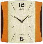 Porovnání ceny Dřevěné skleněné hodiny JVD quartz N12015.2