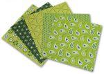 Porovnání ceny Folia - Max Bringmann Origami papír Basics 80 g/m2 - 20 x 20 cm, 50 archů - zelený