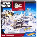 Porovnání ceny Hot Wheels Star Wars Hrací set s hvězdnou lodí - Hoth Echo Base Battle