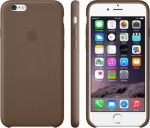 Porovnání ceny Apple iPhone 6 Plus Leather Case Olive Brown