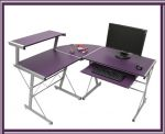 Porovnat ceny HW Písací stôl rohový E-34L LILA