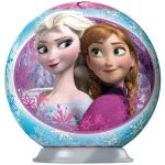 Porovnání ceny Ravensburger Disney Ledové království puzzleball 54 dílků 02 Anna a Elsa pohled na sebe