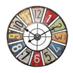 Porovnání ceny Balance Wall clock 60 cm Retro COLOR