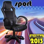 Porovnat ceny HW Kancelárska stolička - kreslá SPORT KA-D03