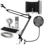 Porovnání ceny Auna MIC-900S, USB MIKROFONNÍ SADA V5, STŘÍBRNÁ, kondenzátorové mikrofony, POP FILTER, AKUSTICKÁ CLONA, mikrofonní rameno (60001967-V5)