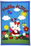 Porovnat ceny VOPI Detský koberček Hello Kitty garden polypropylen 90/120