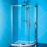 Porovnání ceny Polysan EASY LINE čtvrtkruhová sprchová zástěna 1000x800mm, čiré sklo