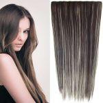 Porovnat ceny Clip in vlasy - 60 cm dlhý pás vlasov - odtieň (F613/6 (melír beach blond vo tmavo plavej)) - Světové Zboží