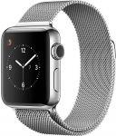 Porovnání ceny Apple Watch Series 2 38mm ocel se stříbrným milánským tahem - SLEVA
