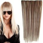 Porovnat ceny Clip in vlasy - 60 cm dlhý pás vlasov - odtieň (F613/8 (melír beach blond vo svetle plavej)) - Světové Zboží