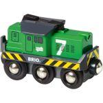 Porovnání ceny Brio 33214 - Elektrická lokomotiva zelená