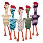 Porovnání ceny Trixie Plyšové kuře se zvukem, různé barvy a motivy, 48 cm