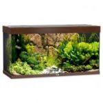 Porovnání ceny Akvárium set JUWEL Rio LED 350 tmavě hnědé 350l