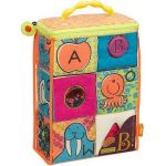 Porovnání ceny B.Toys Textilní kostky ABC Block Party