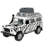 Porovnání ceny Kids Globe Auto Land Rover Safari kov na zpětné natažení se zvuky a světly