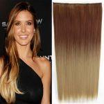Porovnat ceny Clip in vlasy - 60 cm dlhý pás vlasov - ombre štýl (odtieň 30 PT 24) - Světové Zboží