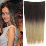 Porovnat ceny Clip in vlasy - 60 cm dlhý pás vlasov - ombre štýl (odtieň 2 T 24) - Světové Zboží