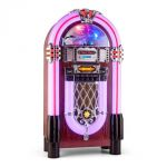 Porovnání ceny Auna Graceland XXL BT, jukebox s bluetooth USB SD AUX CD FM/AM (BX-Graceland-XXL BT)
