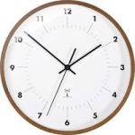 Porovnání ceny Analogové DCF nástěnné hodiny TFA 98.1097, Ø 25,5 x 5 cm, dřevo