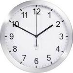 Porovnání ceny Analogové DCF nástěnné hodiny TFA 98.1091.02, Ø 25 x 4 cm, hliník, bílá