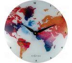 Porovnání ceny Nextime Colorful World 43cm