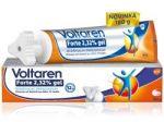 Porovnání ceny Voltaren Forte 2,32 % gel 180 g