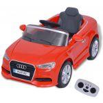 Porovnat ceny 80149 vidaXL Elektrické detské autíčko s diaľkovým ovládaním, Audi A3, červené