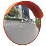 Porovnat ceny 141680 vidaXL Oranžové konvexné dopravné zrkadlo z PC plastu do exteriéru 45 cm