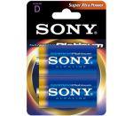Porovnání ceny SONY Alkalické baterie AM1PTB2D, 2ks LR20/D, Stamina Platinum