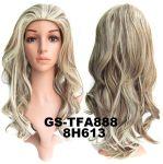 58dae8118 Poloparochňa - 3/4 parochňa zvlnená TFA (H8/613 (melír svetlo hnedej a  beach blond)) - Světové Zboží