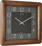 Porovnání ceny Luxusní designové tmavě hnědé nástěnné hodiny JVD N12081. 11
